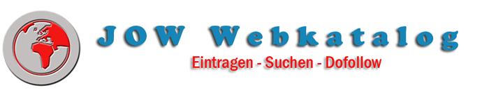 Webkatalog www.jow-webkatalog.de Linkverzeichnis Suchmaschine URL Eintragen