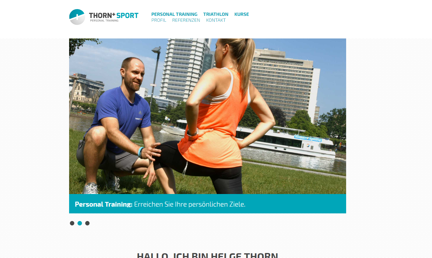 Personal Trainer Helge Thorn