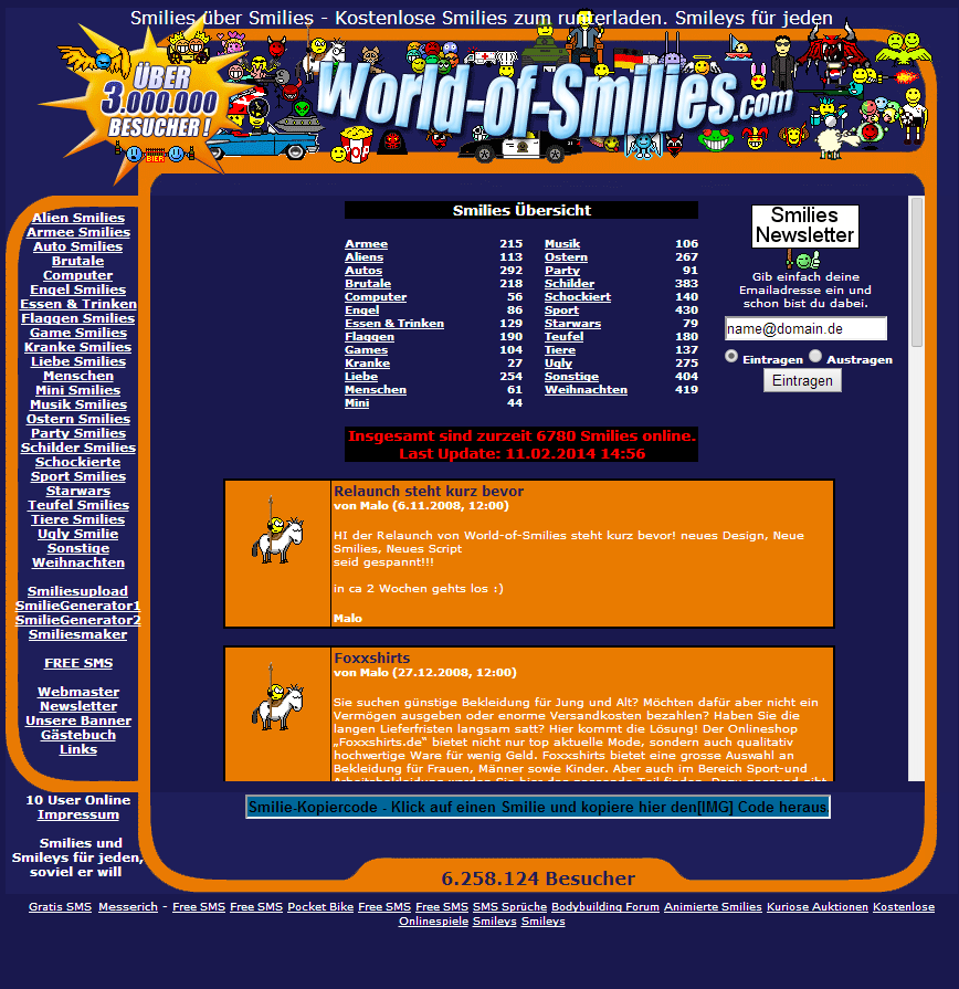 Details : World of Smilies