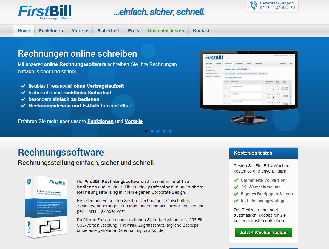 Rechnungssoftware Rechnungen Online Schreiben