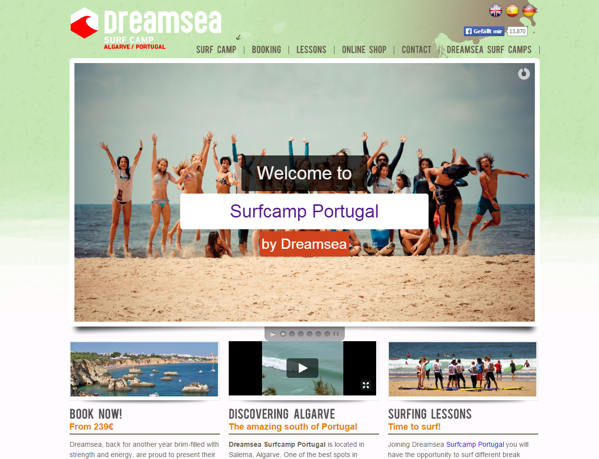 Details : Dreamsea Surf Portugal